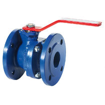 Ball valve / manual / for water / flange
