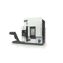 CNC turning center / vertical / 4-axis / high-precision