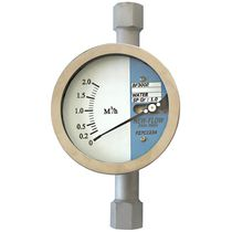 Variable-area flow meter / for liquids / for gas / for steam