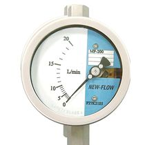 Variable-area flow meter / for liquids / for steam / for gas