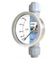 Variable-area flow meter / for gas / for liquids / for air