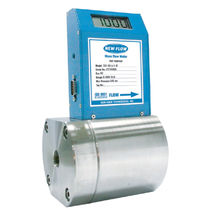 Thermal flow meter / mass / for gas / digital