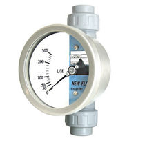 Variable-area flow meter / for liquids / for air / for gas