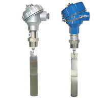 Paddle flow switch / for liquids / explosion-proof / stainless steel