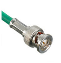 BNC connector / straight / bayonet