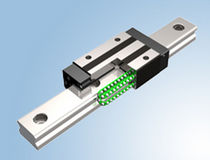 Ball linear guide / stainless steel / silent / track
