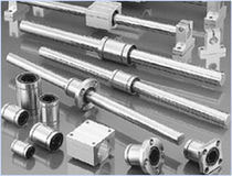 Linear ball bearing / flange-mount