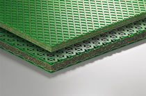 Composite vibration damping plate