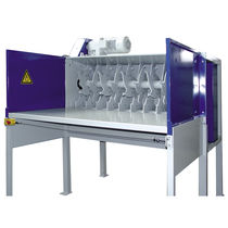 Double-shaft shredder / for cardboard boxes / rugged