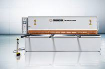 Swing-beam shear / hydraulic / CNC / for metal sheets