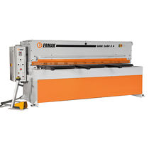 Guillotine shear / mechanical / for metal sheets