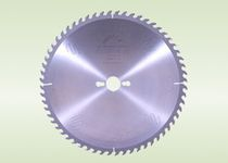 Circular saw blade / tungsten carbide / for MDF / double scoring
