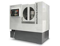 Horizontal gear-hobbing machine