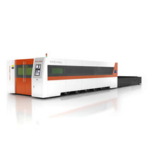 Metal cutting machine / fiber laser / sheet metal / CNC