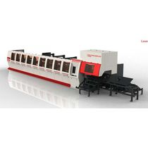 Stainless steel cutting machine / fiber laser / for tubes / CNC