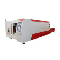 Metal cutting machine / fiber laser / CNC