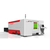 Stainless steel cutting machine / fiber laser / CNC