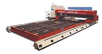 Stainless steel cutting machine / CO2 laser / CNC / large-format