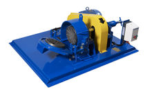 Disc mill / for mineral ore / horizontal / laboratory