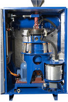 Vibratory disc mill / waste / vertical / automatic