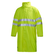 Waterproof lab coat / high-visibility / polyurethane / polyester