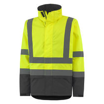 Cold weather jacket / waterproof / high-visibility / polyamide