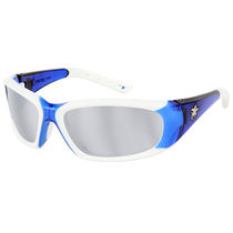 Ballistic safety glasses / with side shields / anti-scratch coating / polycarbonate