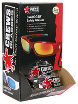 UV safety glasses / with side shields / anti-scratch coating / anti-fog coating