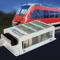 DC/DC converter for railway applications / chassis-mounted / rugged