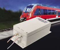 On-line DC/AC inverter / sine wave / electronic equipment / for railway applications