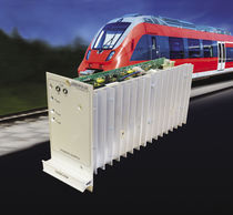 Rack-mount DC/DC converter / plug-in / for railway applications / switching