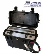 Ni-MH battery charger / handheld / solar / for railway applications
