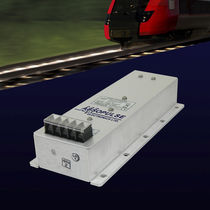 Encapsulated DC/DC converter / step-down / for railway applications / rugged