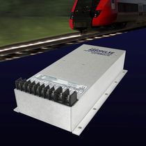 Switch-mode DC/DC converter / encapsulated / step-down / for railway applications