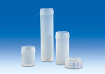 Cylindrical vial / polypropylene / sample preparation