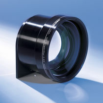 Wide-angle camera objective / machine vision