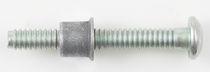 Locking bolt / button head / steel / wide-grip