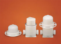 Cartridge filter housing / for chemicals / PVDF
