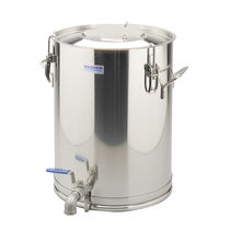 Stainless steel tank / storage / vertical