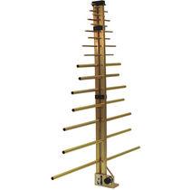 Radio antenna / log-periodic / directional / rugged