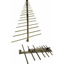 Radio antenna / log-periodic / rugged