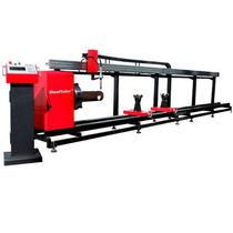 Metal cutting machine / for tubes / CNC / portable