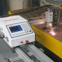 Steel cutting machine / flame / CNC / portable