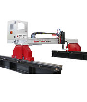 CNC cutting machine / steel / plasma / oxy-fuel