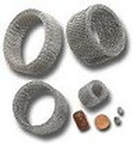 Air filter element / knitted wire mesh