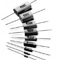 Metalized polypropylene film capacitor / axial