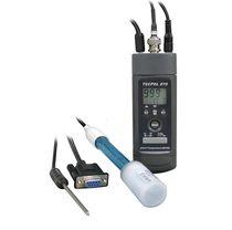 Portable pH meter / process / digital