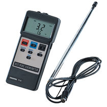 Hot-wire anemometer / digital / portable