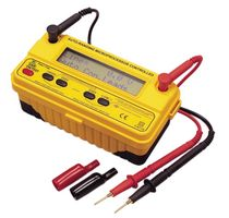 Insulation tester / for electrical installations / multifunction