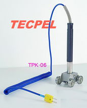 Type K thermocouple / insertion / for moving surfaces